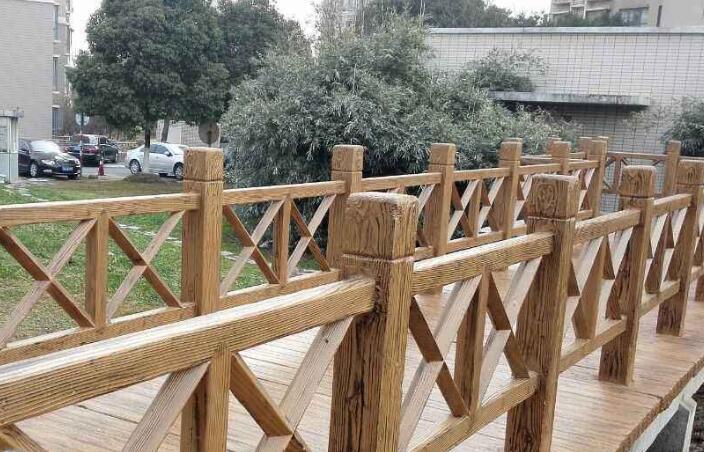 水泥仿木護欄4