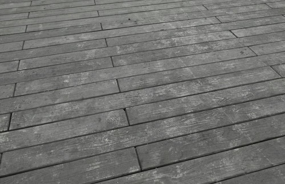 贛州水泥仿木地板工程